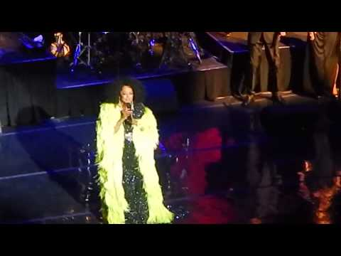 Diana Ross at Long beach 2014