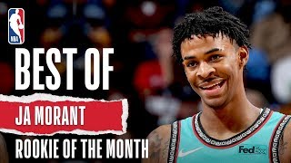Ja Morant's October/November Highlights | KIA Rookie of the Month