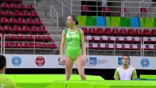 Rio de Janeiro - Test Event - Trampolino femminile individuale