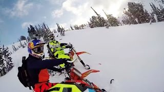Snowbiking in Idaho Backcountry | GoPro POV