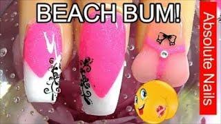 download lagu Beach Bum W/ Thong Acrylic Nails  Absolute Nails gratis