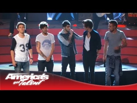 One Direction - best Song Ever Performance On Agt - America's Got Talent 2013 video