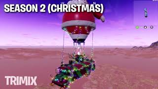 Top Best FORTNITE BATTLE BUS THEME SONGS  ! SEASON 1, HALLOWEEN, CHRISTMAS, BIRTHDAY EVENT,...