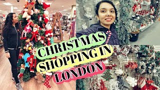Christmas Shopping in LONDON! PRIMARK,HOMESENSE,NEXT,ASDA