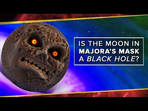Is the Moon in Majora's Mask a Black Hole?   Space Time   PBS Digital Studios