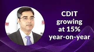 CDIT growing at 15  year-on-year