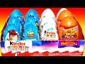 12 Surprise Eggs Unboxing Kinder Surprise Disney Pixar Toy Story Mada