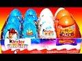 12 Surprise Eggs Unboxing Kinder Surprise Disney Pixar Toy Story Mada