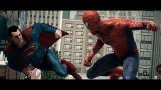 SUPERMAN VS SPIDERMAN Animated Short (DC & Marvel Comics Animation)