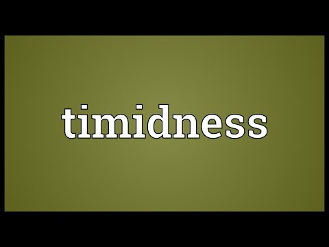 Header of timidness