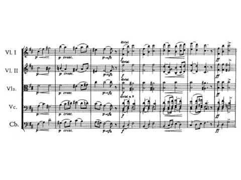 Edvard Grieg - Peer Gynt Suite No.2. Aase's Death. Partitura. Audición.