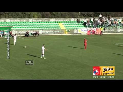 FK Donji Srem Pecinci 1-0 Radnicki 1923 Kragujevac