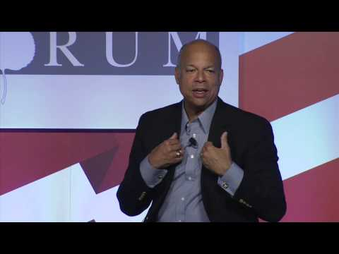 DHS Sec. Jeh Johnson on the factors behind current immigration at Southern US border