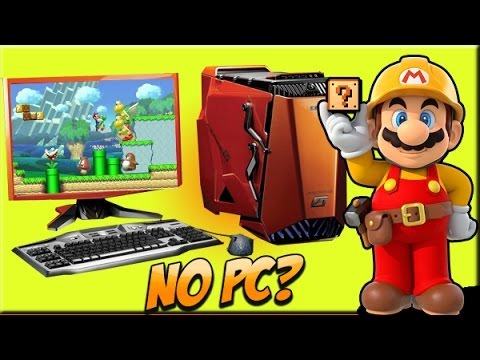 MARIO MAKER NO PC!