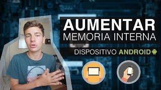 AUMENTAR MEMORIA INTERNA en Cualquier Android y Particionar SD | 2015