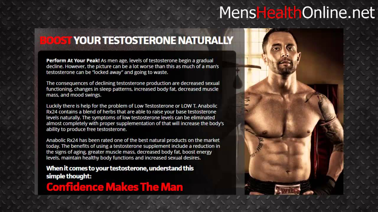 Self Confidence Testosterone Muscle And Self Confidence