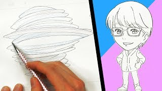 "Secret skills: ""Tornado Transformation"" by Japanese Professional Animator"