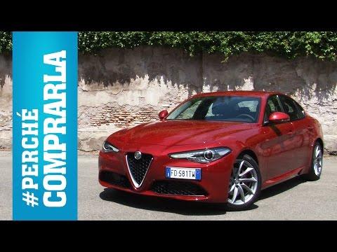 Alfa Romeo Giulia  Perché comprarla… e perché no