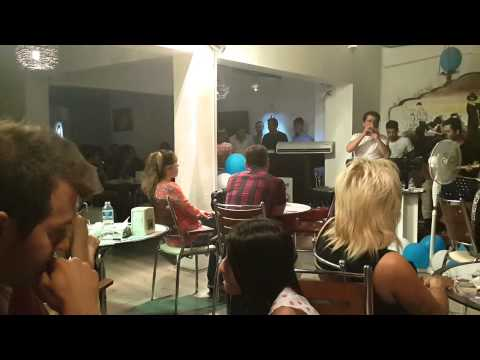 Malatya'da  Mehmet Balaman Rüzgarı Esti  Malatya'da Umut Cafe'de