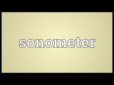 Header of sonometer