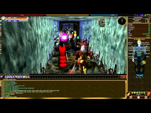 Asheron's Call - 'Raid' Content Gameplay