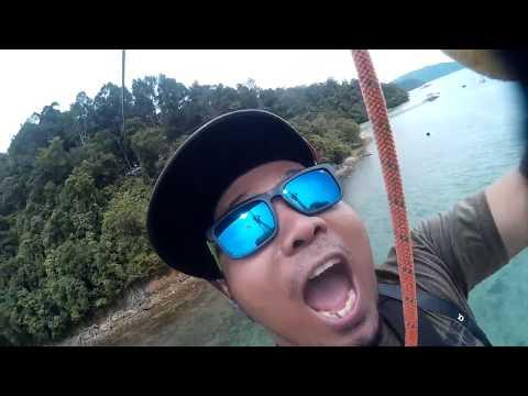 Coral Flyer Zipline Sabah 720p