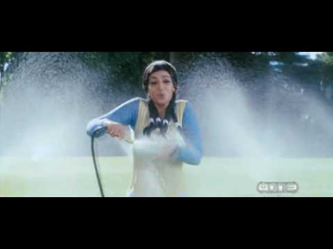Ayesha Takia watering her big boobs