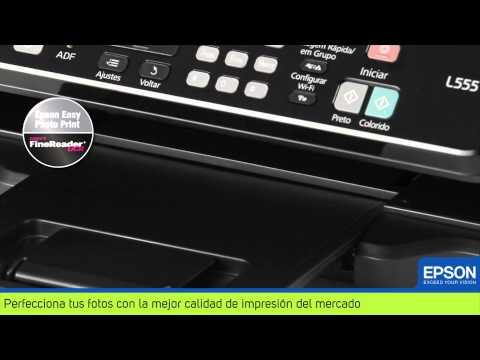 Impresora Multifuncional Epson con Tanque de Tinta L555