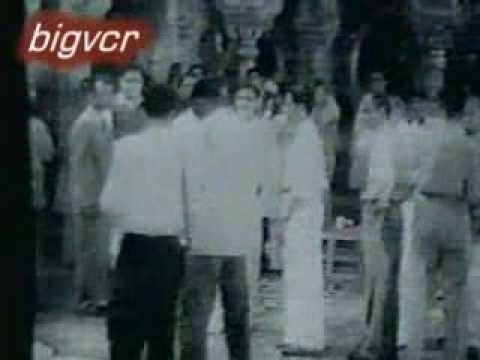 rare video  ( mughal e azam. ) premiere 1960