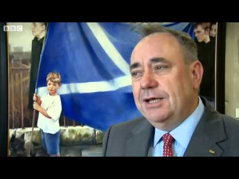 BBC News   Scottish independence  Salmond tells Obama Yes we can