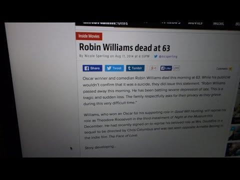 Vlog#549-R.I.P.: ROBIN WILLIAMS