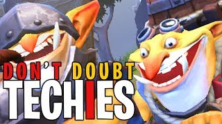 That Moment You Doubt Techies - DotA 2 Funny Moments