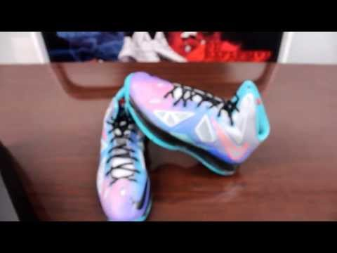 Nike LeBron X Pure Platinum Review