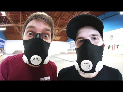 HIGH ELEVATION TRAINING MASKS GAME OF SKATE!