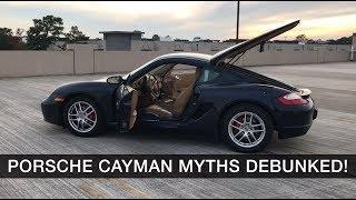 Porsche Cayman Myths Debunked