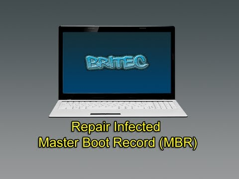 Repair Infected Master Boot Record (MBR)