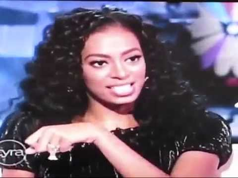 The Tyra Banks Show - Interview with Solange Knowles