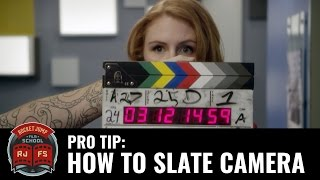Pro Tip: HOW TO SLATE