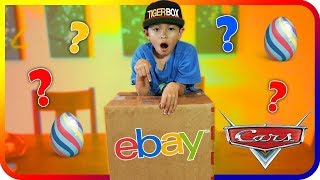 EBAY MYSTERY BOX OPENNING and Surprise Eggs Disney Cars - Super Baby Colors