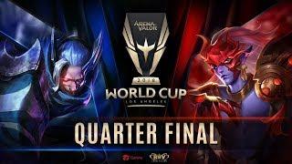 RoV : World Cup 2018 Day 5 - Quarter Finals
