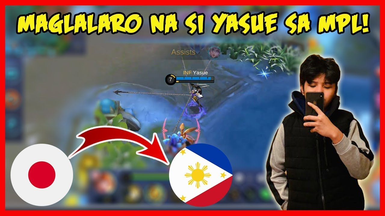 Kabahan kana Dogie! Yasue Top1 Fanny from Japan Uuwi na sa Pinas! - Mobile Legends