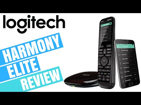LOGITECH HARMONY ELITE REVIEW (Best Universal Remote Control)