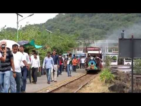 Fabulous Mini ( Toy ) Train at Elephanta Island, Mumbai : Maharashtra Tourism Development