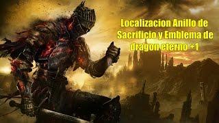 Dark Souls 3 | Anillo de Sacrificio y Anillo emblema de dragon eterno +1