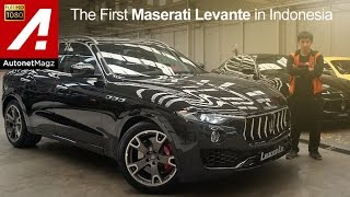 First impression review Maserati Levante Indonesia