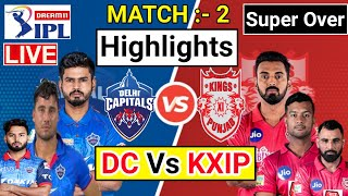 DC vs KXIP – Match Highlights