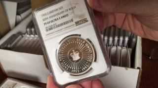 Some awesome grading results and depressing failures - NGC Mega Unboxing box 2
