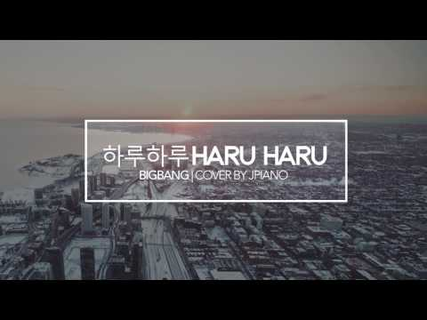 BIGBANG - Haru Haru (piano Cover & Sheets) [하루하루]