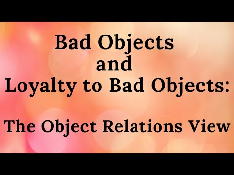 an introduction to the object relations by melanie klein Free download: object relations - an introduction click here to  melanie  klein's object relations theory (starts at 1439 mins) melanie.