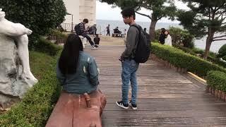 TAMAN ter MESUM di dunia hanya ada di korea selatan ( 해신당 공원 )
